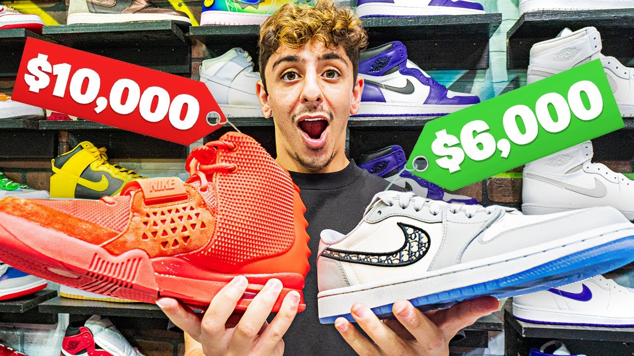 Sneaker Shopping with FaZe Rug! (EXPENSIVE $$$)