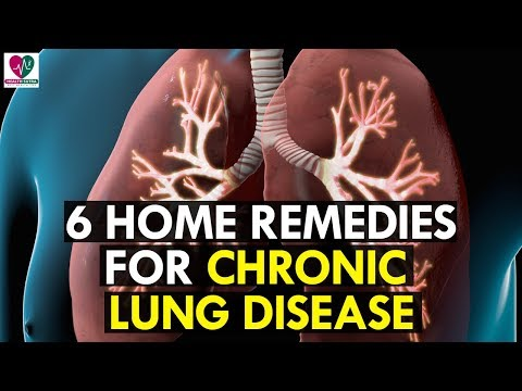 6 Most Effective Home Remedies for Chronic Lung Disease