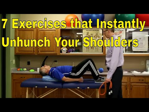 7 Exercises That Instantly Unhunch Your Shoulders + BONUS