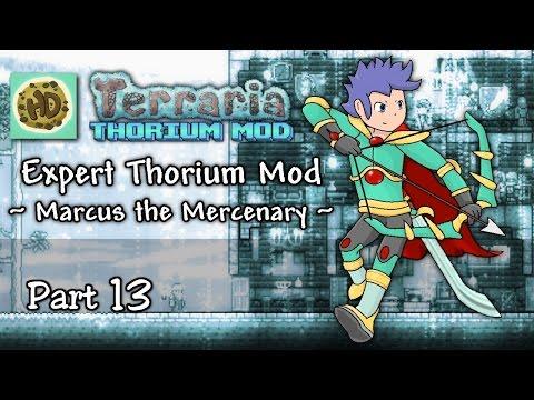 Terraria 1.3 Expert Thorium Mod Part 13 | Dragon Armor, Plantera & Dungeon! | 1.3 Let's Play