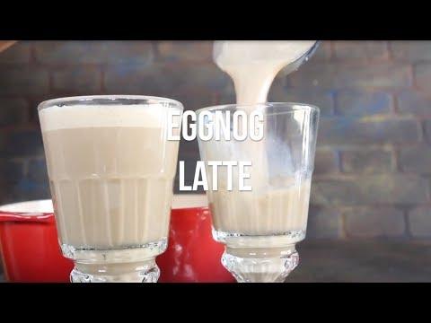 Warm Eggnog Latte