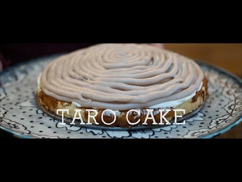 How to make Taro Cake | 芋泥奶油蛋糕