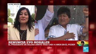 Informe desde La Paz: Evo Morales dimite tras casi 14 años en el poder