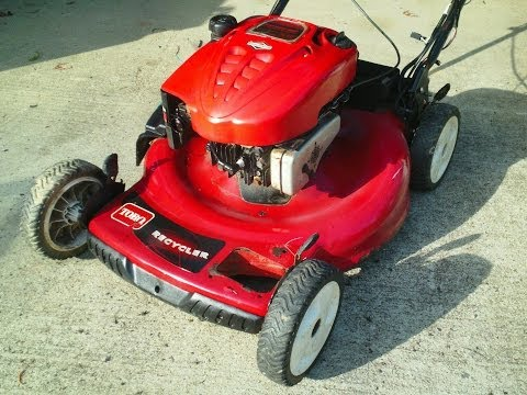How to fix the throttle on a Toro self propelled mower