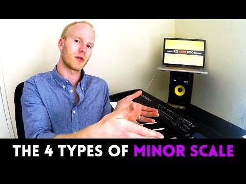THE 4 TYPES OF MINOR SCALE, EXPLAINED (natural, harmonic, melodic, dorian)