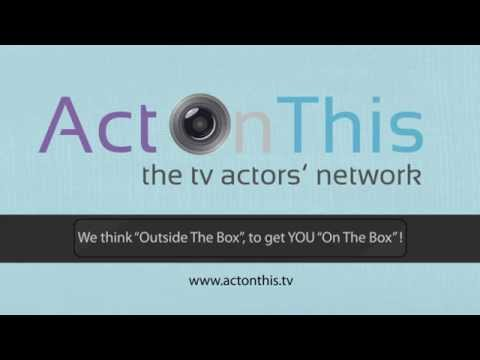 Acting Auditions In The UK - Widen YOUR Network Now!