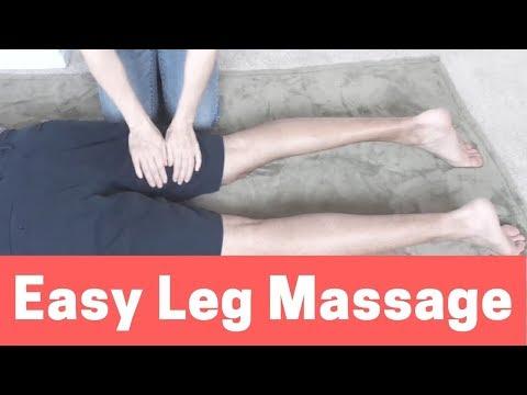 Easy Leg Massage (Back of the Leg) - Massage Monday #380