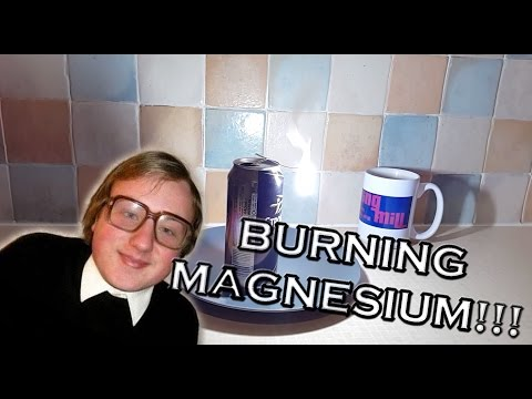 Magnesium ribbon review - great for burning and experiments.