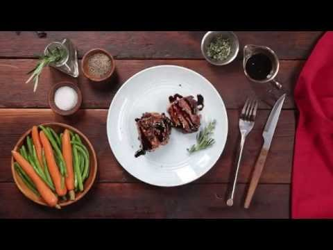 Smithfield - Pork with Sweet Balsamic Red Wine Sauce Recipe