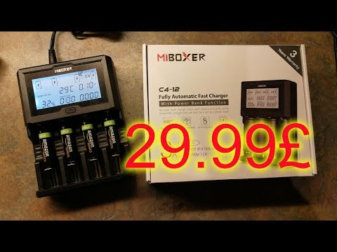 29.99£ MIBOXER C4-12 aka KINDEN BC-C12 Smart Fast Battery Charger 3A x 4 (12A)