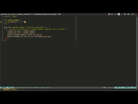Generate an array of 20 random integers in Ruby