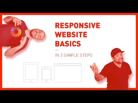 Responsive Website Basics (in 3 simple steps)
