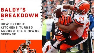 Download How Freddie Kitchens Turned Around the Browns Offense   NFL Film Review Video