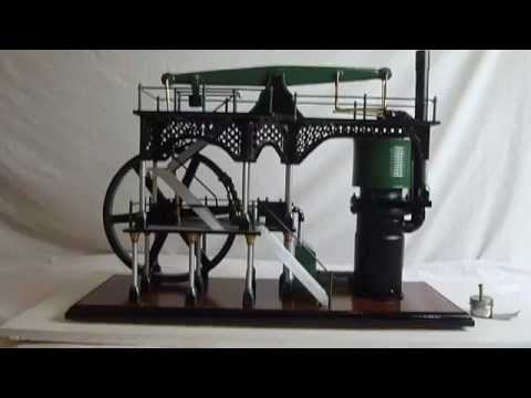 Homemade Stirling Watts Beam Engine , Hot Air Engine .