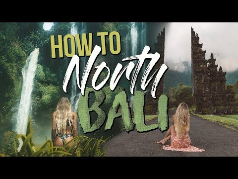HOW TO TRAVEL NORTH BALI | Sekumpul Waterfall & Bali Gate