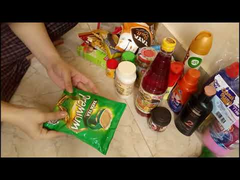Indian Monthly Grocery Haul 2018    Vlogs with Divya