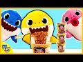 Baby Shark Eats Pororo Black Noodles Secretly Mommy Shark And Daddy Shark Do Not Know WeToy