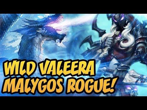 Hearthstone: Wild Valeera Malygos Rogue!