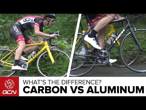Carbon Vs Aluminium Bikes | What's The Difference On The Road?