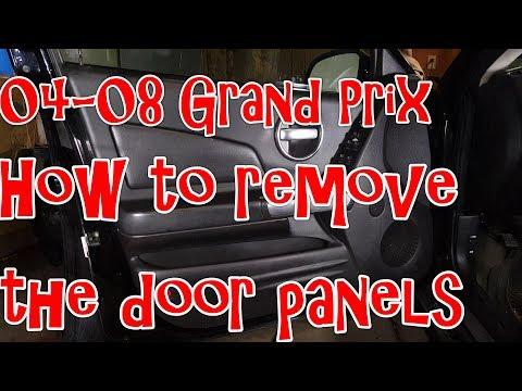 04-08 Pontiac Grand Prix - How to remove the door panels