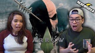 ARROW Season 5 DEATHSTROKE RETURNS Sizzle Trailer REACTION