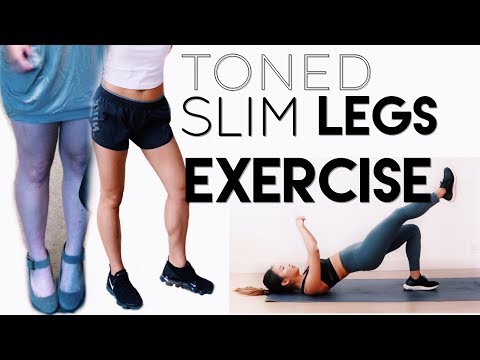 TONED LEGS & BUTT WORKOUT | At Home Or Gym