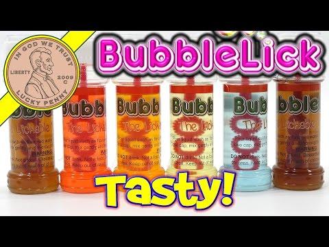 VAT19 BubbleLick Edible Bubbles! Mountain Dew, Coke & Pepsi Flavor