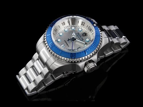 Invicta 16970 Reserve Hydromax GMT Bracelet Watch