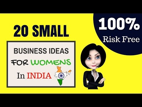 Top 20 Small Business Ideas For Womens in India to Make Money
