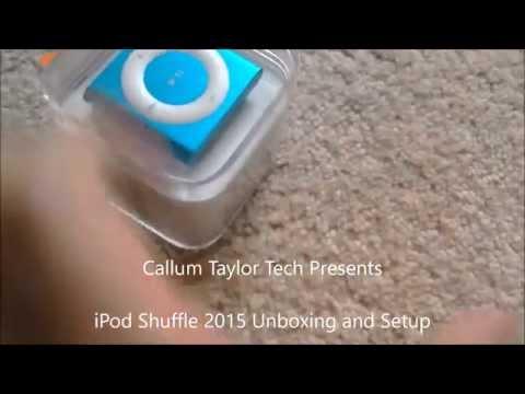 iPod Shuffle Unboxing and Setup