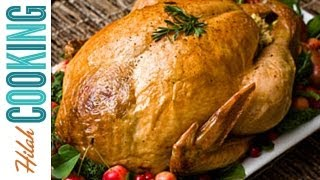 How To Cook A Turkey Easy Roast Turkey Recipe Hilah Cooking