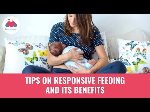Responsive Feeding and its Benefits | Breastfeeding