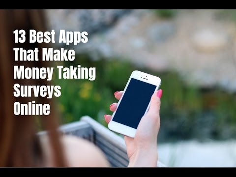 13 Best Apps to Make Money Taking Surveys Online