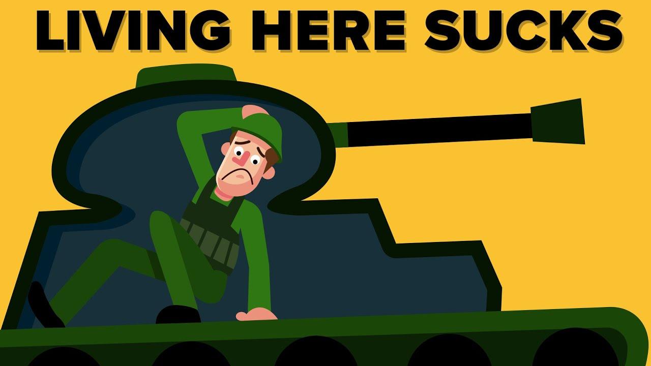 Why Life Inside A Tank Sucks