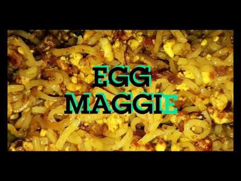How to make: Egg maggi