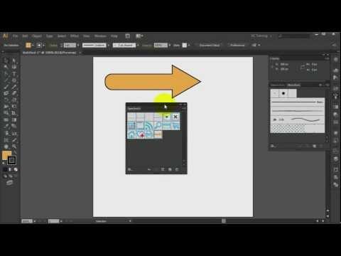Adobe Illustrator CS6 - Arrow Symbol Construction