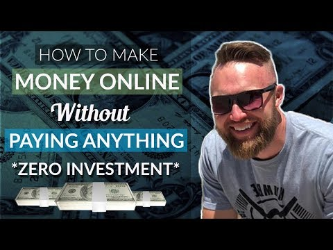 HOW TO MAKE MONEY ONLINE WITHOUT PAYING ANYTHING - ZERO Investment
