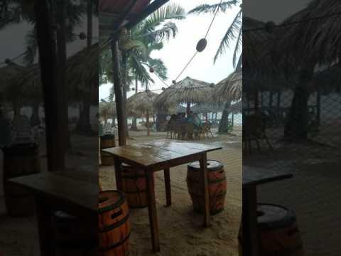 Rainy Day in Playa Ancon, Cuba