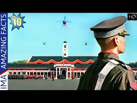 Indian Military Academy - Top 10 Amazing Facts About IMA Dehradun (Hindi)