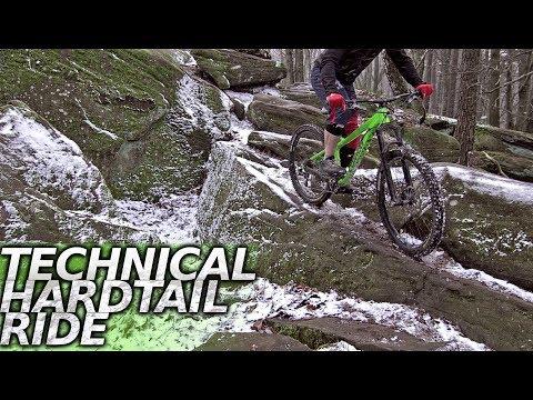 TECH TRAIL ON THE HARDTAIL - mountain bike film
