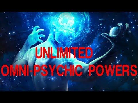Unlimited OmniPsychic Powers- Unlock Your Psychic Abilities - Subliminal Affirmations