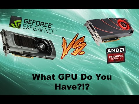 How To Find Out What GPU/Graphic Card You Have Windows 7 / Vista