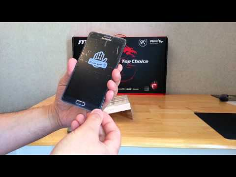 Galaxy Note 4 AT&T Warranty Replacement Unboxing