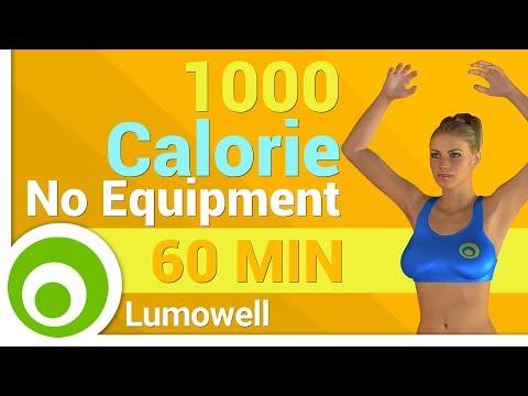 1000 Calorie Workout No Equipment