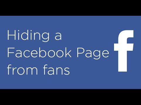 How to make your Facebook Page private