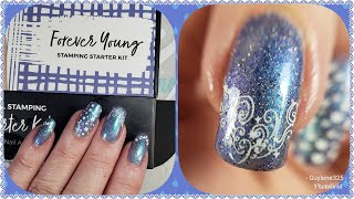 Maniology Forever Young Stamping Kit.