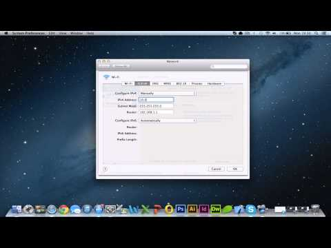How to set a Static IP Address on Mac OS X [HD][Guide] 2017
