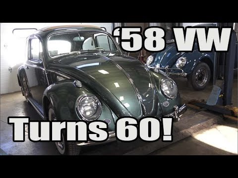 Classic VW BuGs The Vintage 1958 Volkswagen Beetle turns 60!