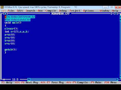 C++ Program to find Sum of First and Last Digit of Three Digit Number