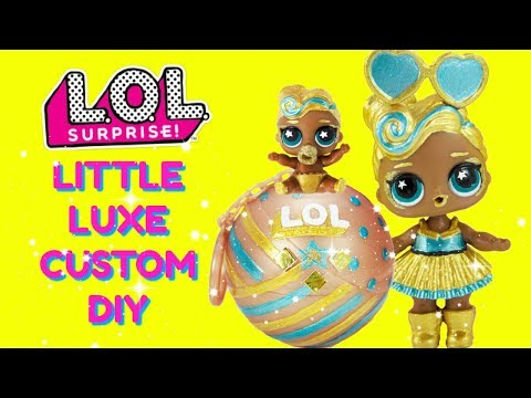 DIY LITTLE DJ To LITTLE LUXE MAKEOVER Big Sister DJ LUXE Gets A Little Sister!